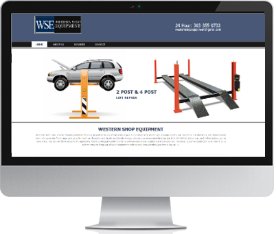 Repair Shop Web Design